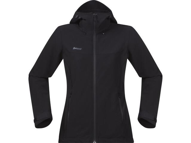 Bergans Ramberg Softshell Jacket Damen black/solid charcoal